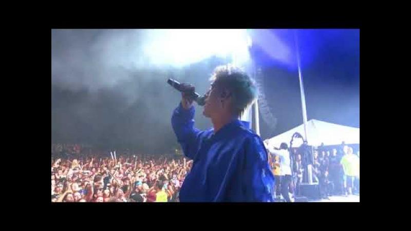 Machine Gun Kelly - Wild Boy, Breaking News and Chip Off The Block (Live at EST Fest - 2017)