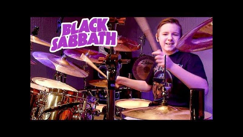 WAR PIGS - BLACK SABBATH (11 year old Drummer) Drum Cover by Avery Drummer