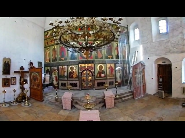 360 VR Tour | Moscow | Ivanovsky Convent | St. Vladimir's Church | VR Walk | No comments tour