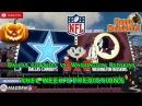 Dallas Cowboys vs. Washington Redskins   #NFL WEEK 8   Predictions Madden 18