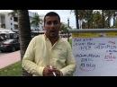 Um Garçom em Miami Beach ganha por Hora mais que um Trabalhador Brasileiro ganha por Dia!