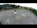 Учим цвета для самых маленьких Подвижная игра на улице с малышом Ребенок 2 и 1