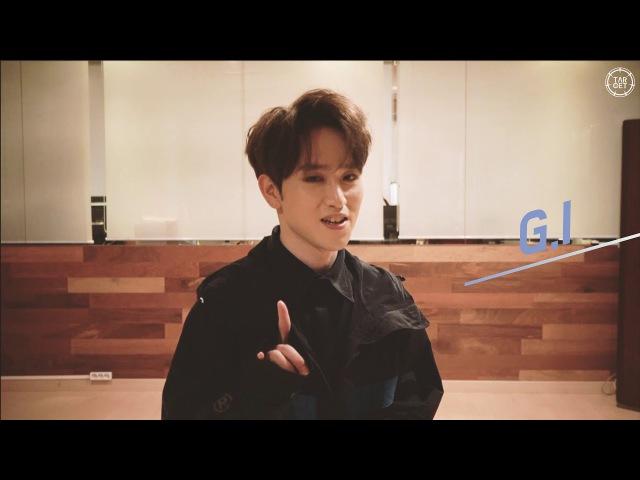 TARGET(타겟) Member Introduction(멤버소개) - G.I (지아이)