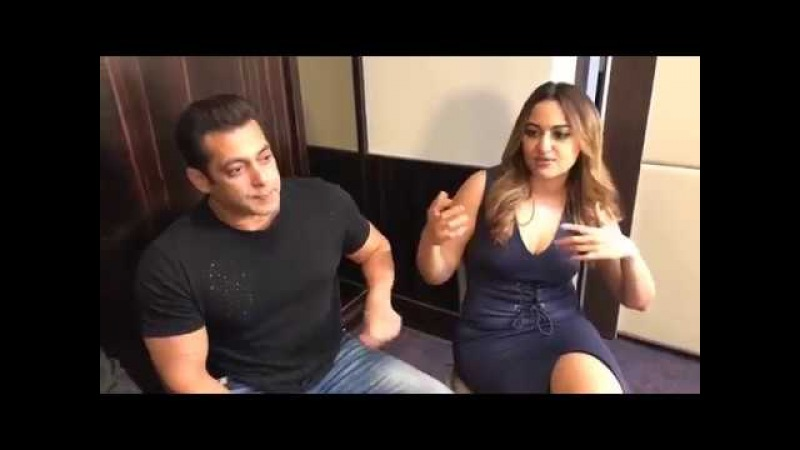 Salman khan, Jacqueline and Sonakshi chatted to BBC for Da Bangg Tour