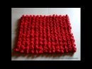 DIY Door Mat from old T shirts Easy Table Mat Recycling old t shirts Step by step tutorial