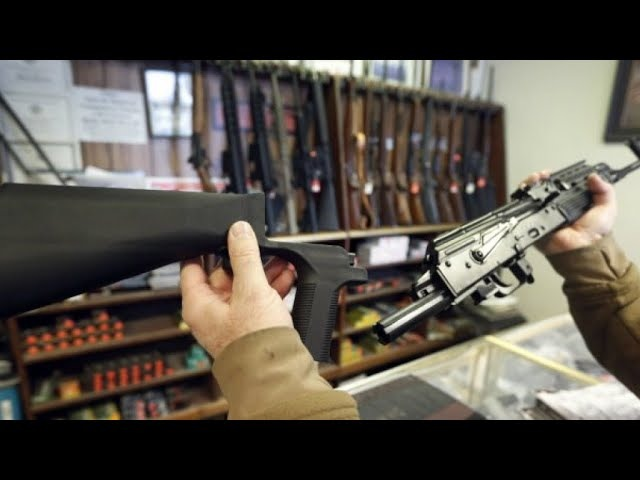 Contrôle des armes automatiques : Donald Trump prêt à interdire les