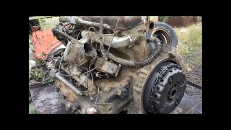 Весь процесс установки двигателя ямз-238 на т-150к /Moldova
