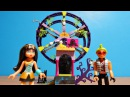 Monster High Mega Construx Clawsome Carnival Deuce & Cleo Scaris Wheel Unboxing Toy Review