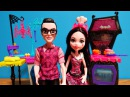 Monster High Family Vampire Kitchen Playset Unboxing  Draculaura & Father Dracula Doll Toy Review