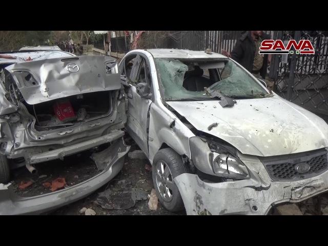 Бандформирования обстреляли ракетными и миномётными снарядами столичный квартал Рукн-эд-Дин