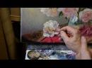 Zbigniew Kopania - obraz olejny Peonie - tutorial