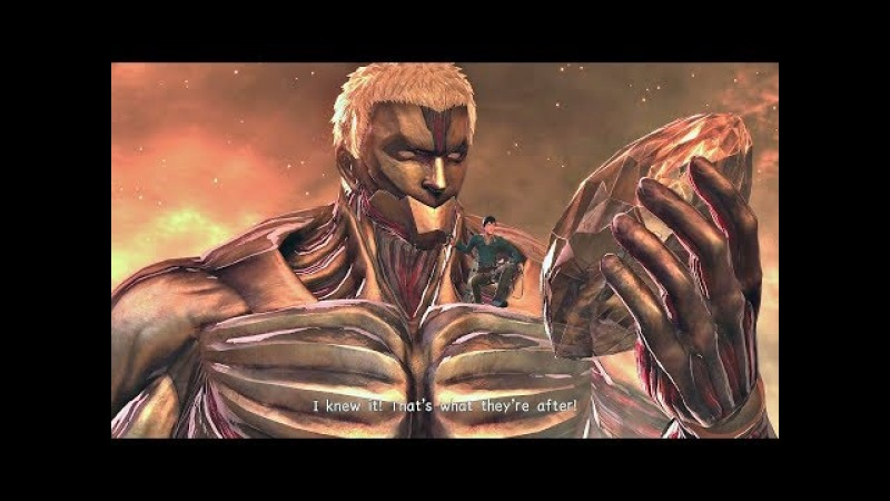 ATTACK ON TITAN 2 - Secret Final Boss TRUE ENDING (SEASON 3 ENDING) PS4 PRO