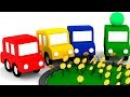 Развивающие мультики для детей 4МАШИНКИ и 8МАРТА! Мультики про машинки