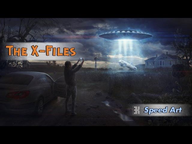 The X-Files / Speed Art by Evgenij Kungur