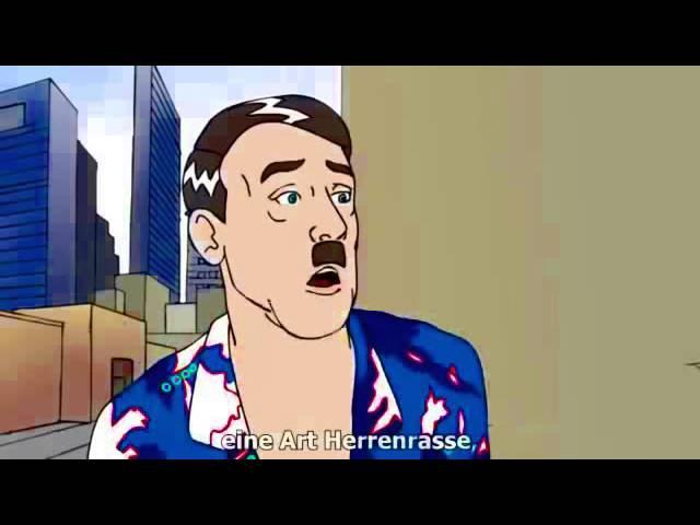 AntiRacist Hitler - Divörsity is guut! - Parody on Barbara Spectre [GER subs]
