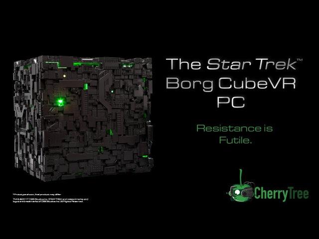 Borg Cube PC teaser