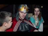 Алёша Попович подворье Ярославль. Новогодний праздник. Богатырь из былины.