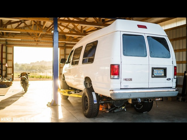 1999 Ford E350 Lifted Van Build Project