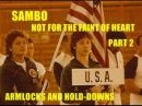 Sambo Not For The Faint of Heart Part 2 Armlocks and Hold Downs