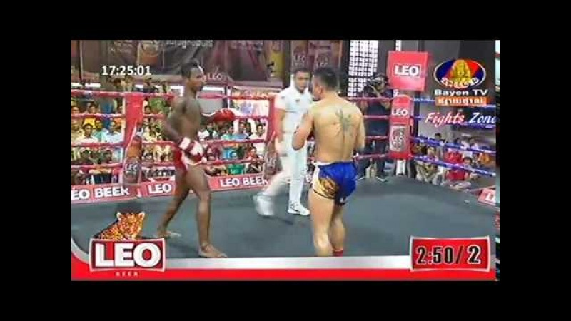 Kun Khmer, Muth Khlem Khmao Vs Thai, Wancharlerm, Bayo boxing 25 Feb 2018 | Fights Zone