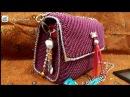 Crochet || how to make crochet bag || sc back loop only