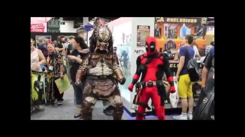 Deadpool on the Comic Con