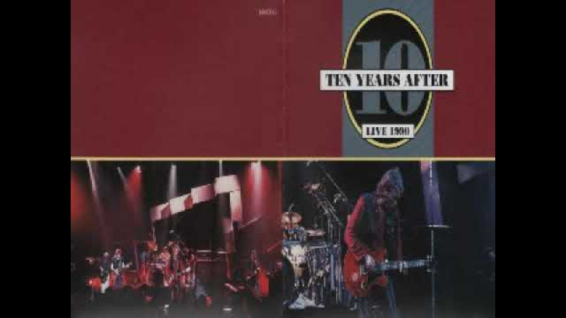 Ten Years After Live 1990 I Can't Keep From Crying Dimitris Lesini Greece