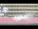 Torcedores nadam na arquibancada do Morumbi Vídeos de Esportes TerraTV