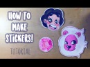 HOW TO MAKE YOUR OWN STICKERS! (Tutorial)