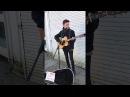 Alfie Sheard busking... Hallelujah cover