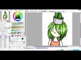 Cactus-gitl  SPEEDPAINT #3