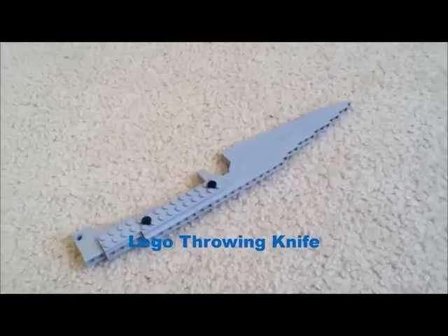 Lego - Throwing Knife