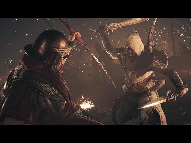 Assassin's creed : Истоки . DLC . Проклятие фараонов . Серия 11 . Царь царей . Босс Рамзес .