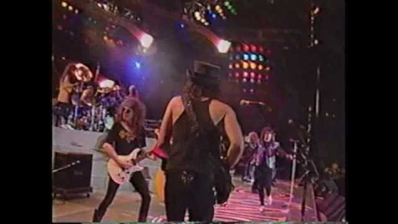 Bon Jovi, Ratt friends - It's All Over Now (live Tokyo)
