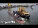 'Second Third Scorpene Class Submarines Undergoing Sea Trials' Vice Admiral