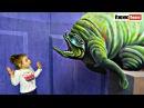 Обидели Ребенка в Кафе Выставка Живых картин Огромный дом великана Hurt a Child in the Caf