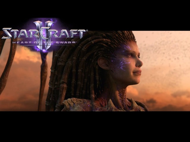 StarCraft 2: Heart of the Swarm - All Cinematics Cutscenes