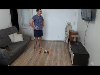 Комплекс упражнений (отжимания, приседания)
