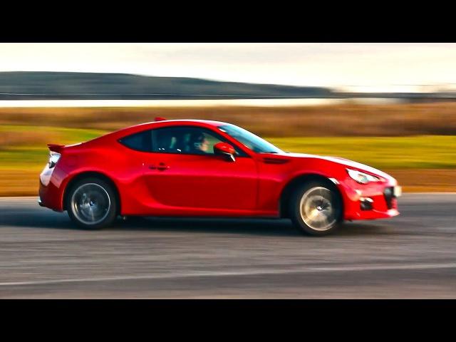 Миллион косяков эмоции! Subaru BRZ (Toyota GT86 / Scion FR-S) тест драйв и обзор - видео с YouTube-канала Clickoncar