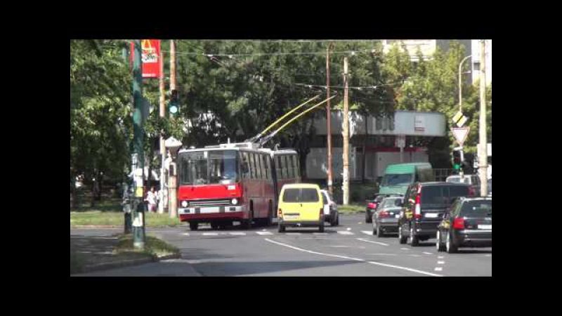 Budapest Trolleybus - videomix with Ikarus 280T, ZiU9 more [1080p]