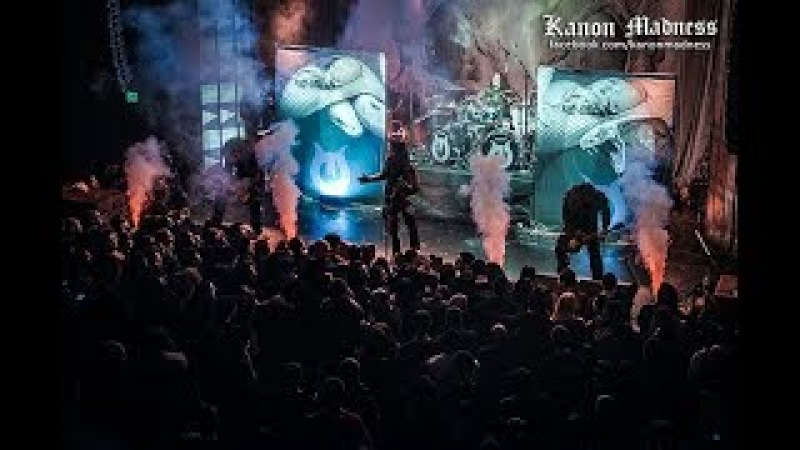 Septicflesh - Pyramid God Live (The Regent - Feb 22 2018) By Kanon Madness