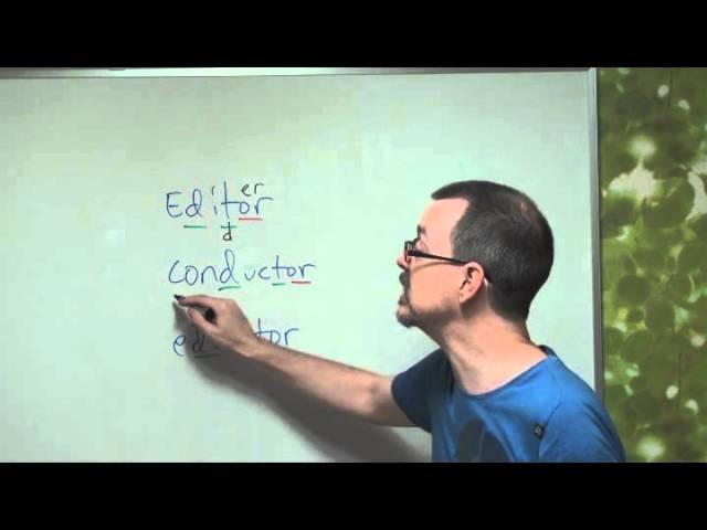 QA: Editor, Conductor, Educator (American Pronunciation)
