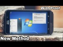 How to Install Windows 10/8/7/XP/Linux on Any Android Phone..!![Windows 7 Ultimate Here]