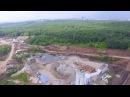 Бетонный завод МЕКА на строительстве Самара Арены