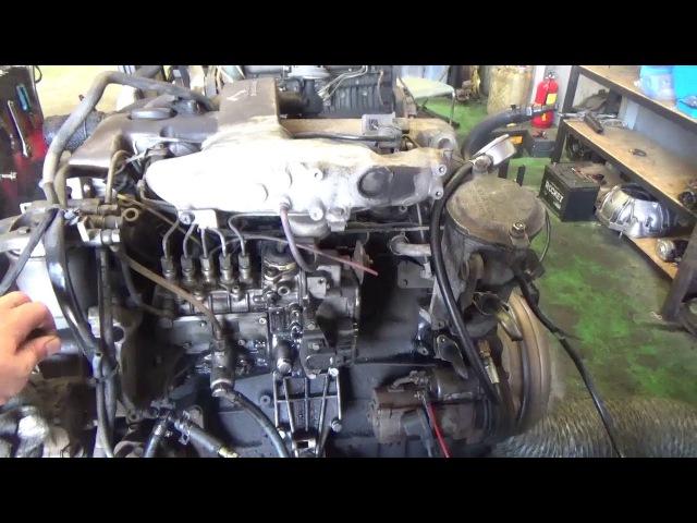 Проверка давления масла в двигателе 662920 12 020239 OM662LA 2.9 л. turbo Musso, Rexton, Korando