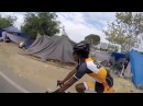 Riding through the Homeless Camps in Anaheim California on the Santa Ana River Trail