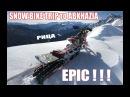 🇷🇺Эпичная поездка в Абхазию со сноубайками! / 🇬🇧Epic trip to Abkhazia with snowbikes
