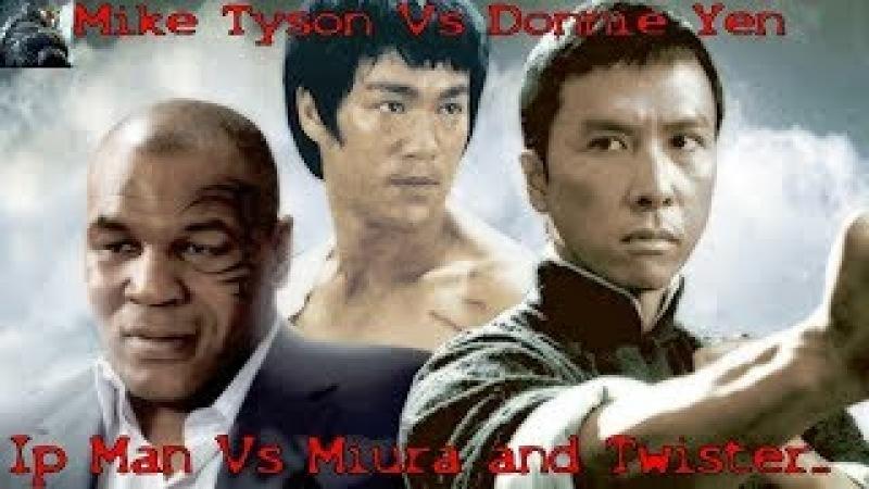 Bruce Lee Master Ip Man Best Fighting (Kung Fu Martial Arts Wing Chun)