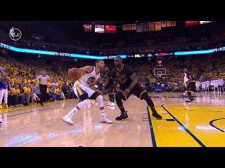 Stephen Curry Beats LeBron James Off The Dribble | Warriors vs Cavs Game 2 | June 4, 2017