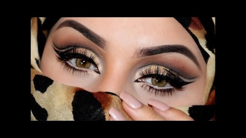 DRESSYOURFACE INSPIRED MAKEUP TUTORIAL مكياج درس يور فيس